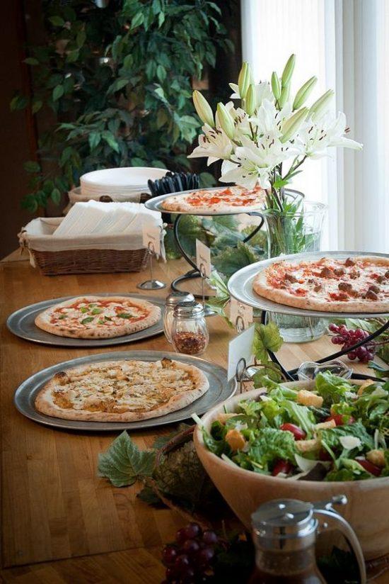 Pizza na weselu zdjęcie 2