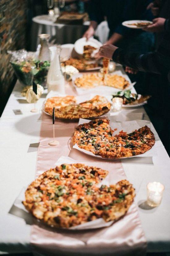Pizza na weselu zdjęcie 3