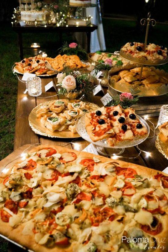 Pizza na weselu zdjęcie 4