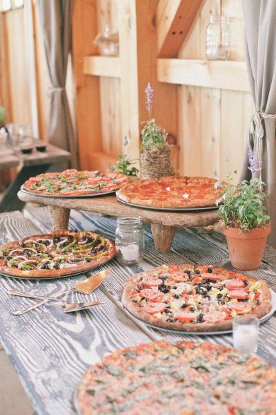 Pizza na weselu zdjęcie 5