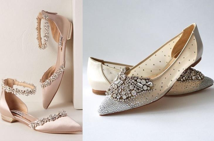 Płaskie buty do ślubu - zdjęcie 5