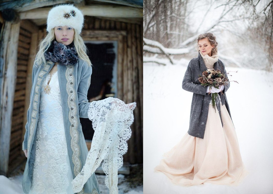 Płaszcz do sukni ślubnej - zdjęcie 2