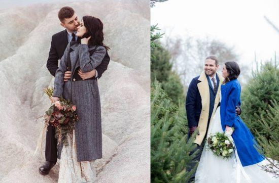 Płaszcz do sukni ślubnej - zdjęcie 6