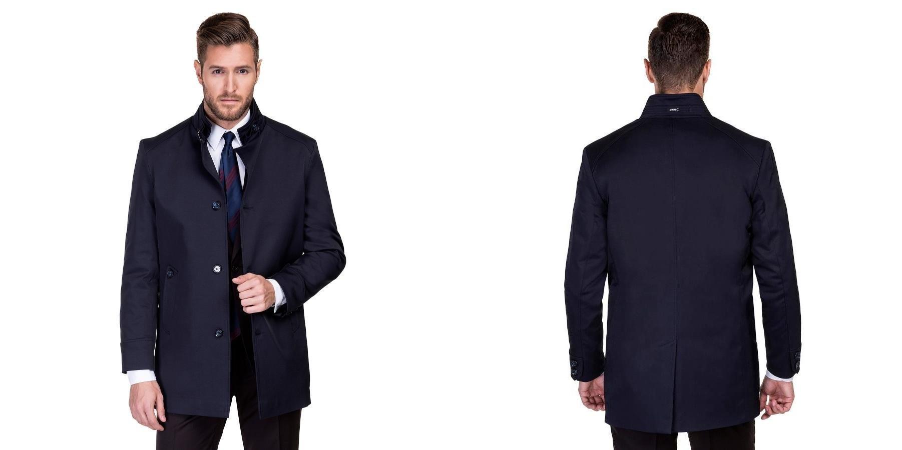 Płaszcze dla Pana Młodego na jesienne wesele