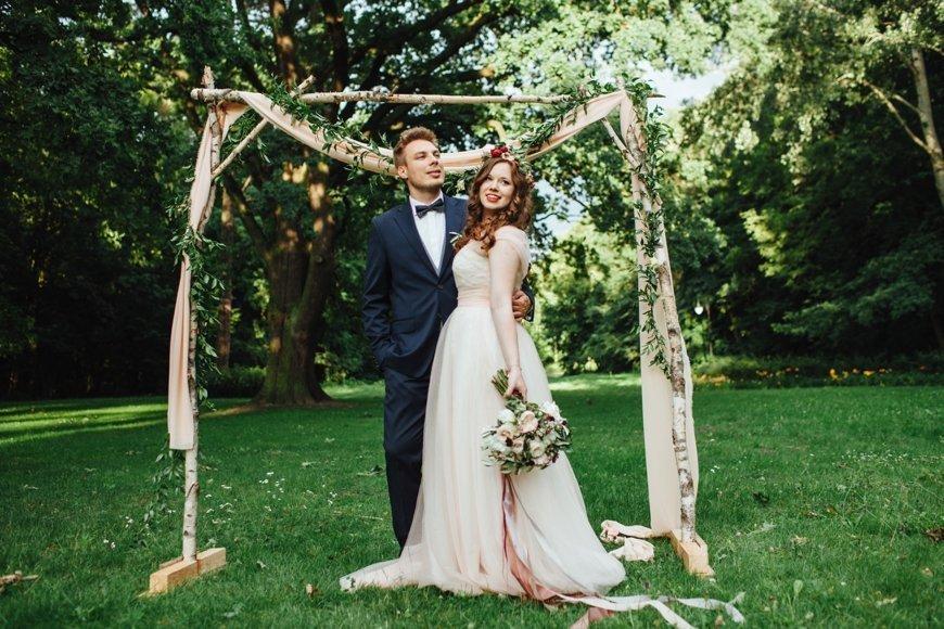 Plenerowy ślub Oli i Michała - zdjęcie 10