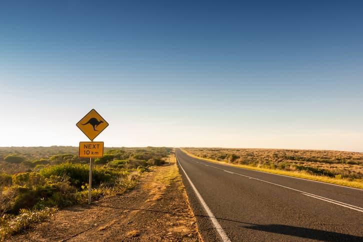 krajobraz droga australia