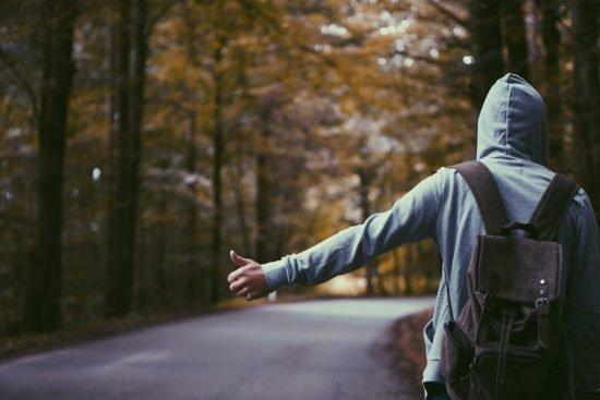 podróż poślubna autostopem