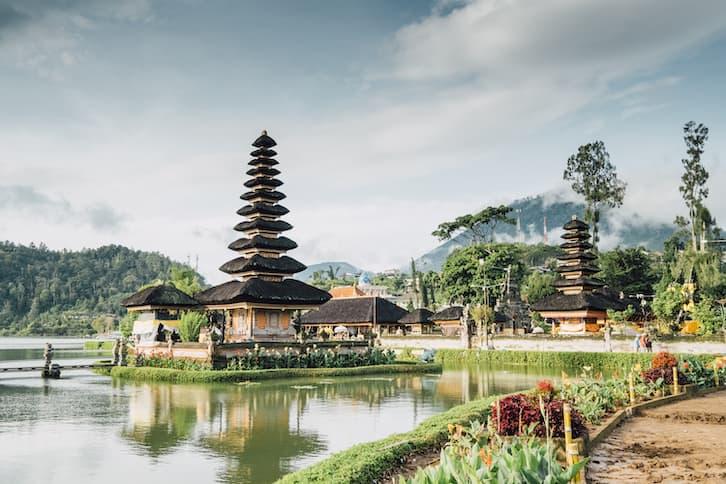 podróż poślubna bali pagoda