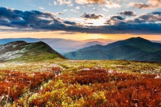 Podróż poślubna w polskich górach - Bieszczady