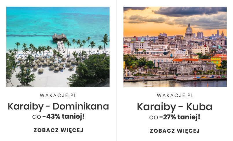 Podróż poślubna na Karaiby