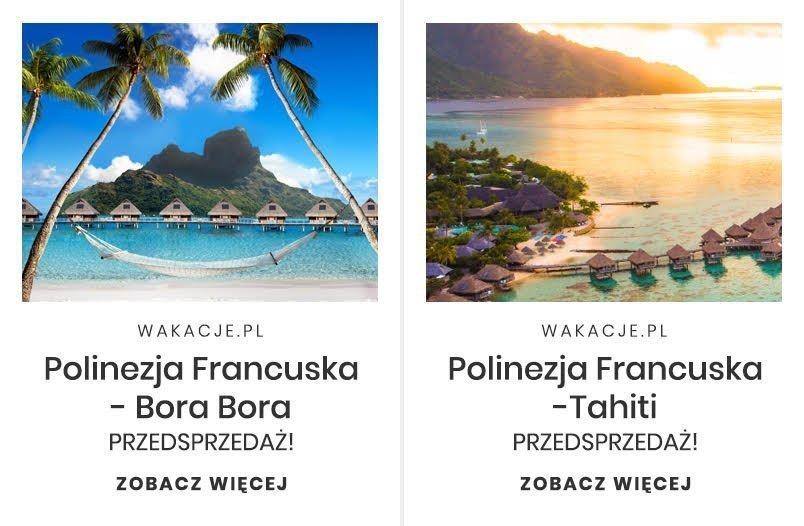 Podróż poślubna na Polinezję Francuską