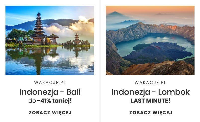 Podróż poślubna na Indonezję