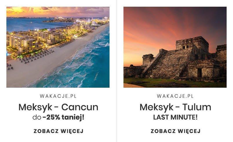 Podróż poślubna do Meksyku