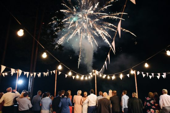 Pokaz sztucznych ogni na weselu - zdjęcie 3