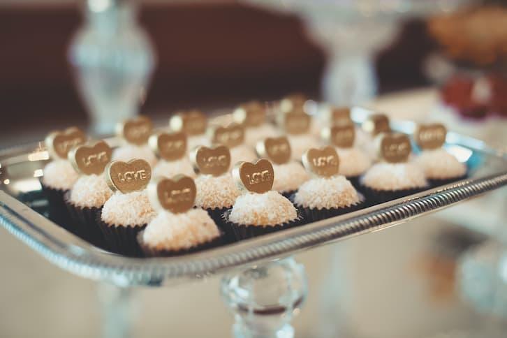 upominki dla gości słodycze