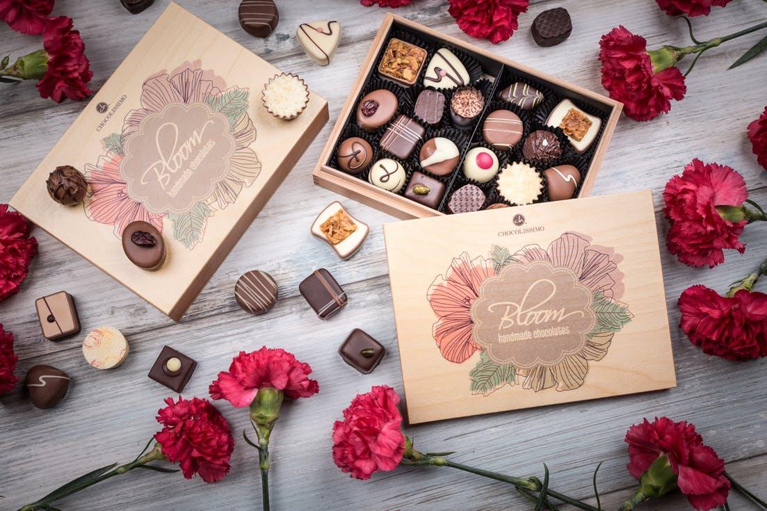 prezent dla świadkowej - czekoladki