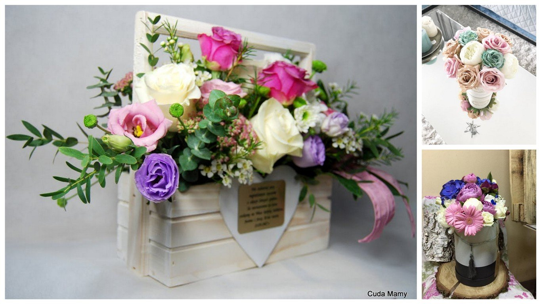prezent dla świadkowej - kwiaty