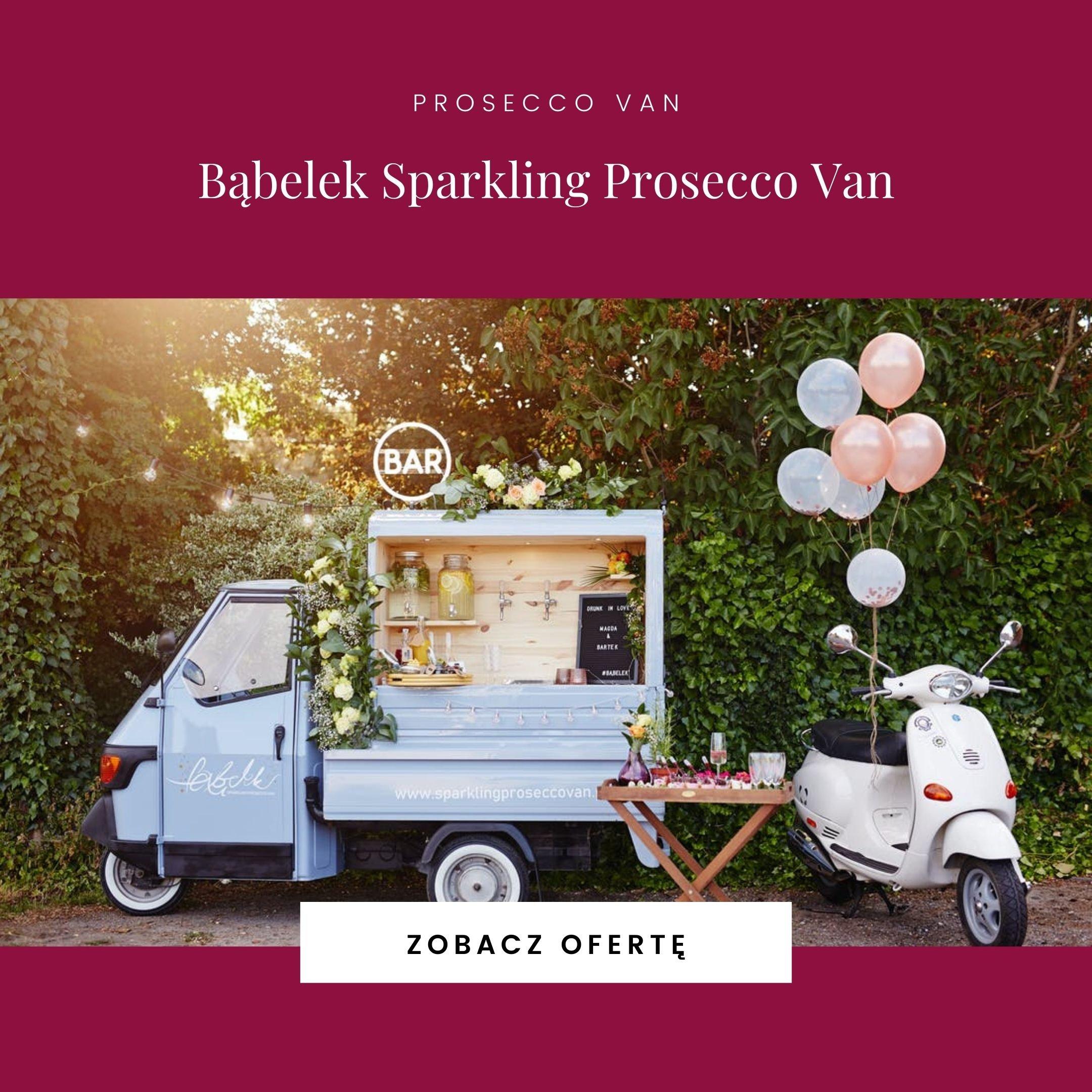 Bąbelek Sparkling Prosecco Van