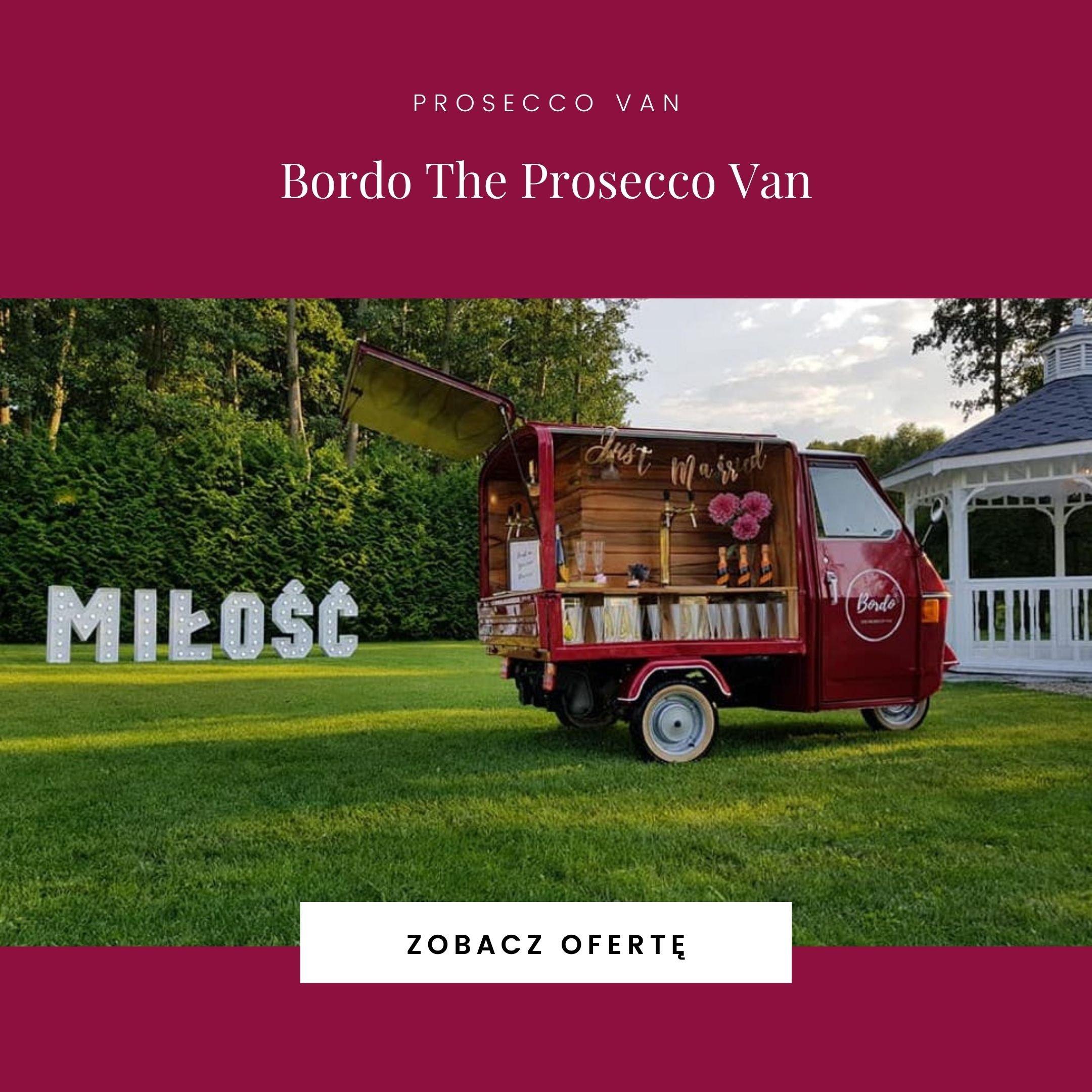 Bordo The Prosecco Van