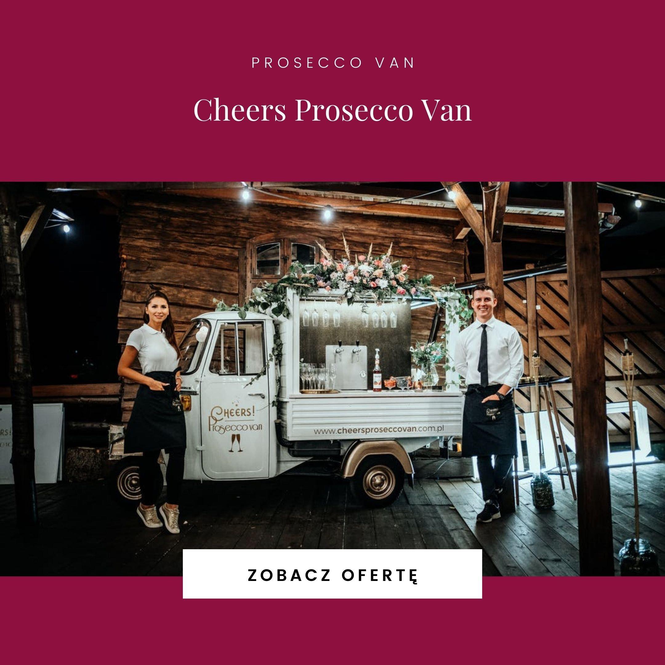 Cheers Prosecco Van
