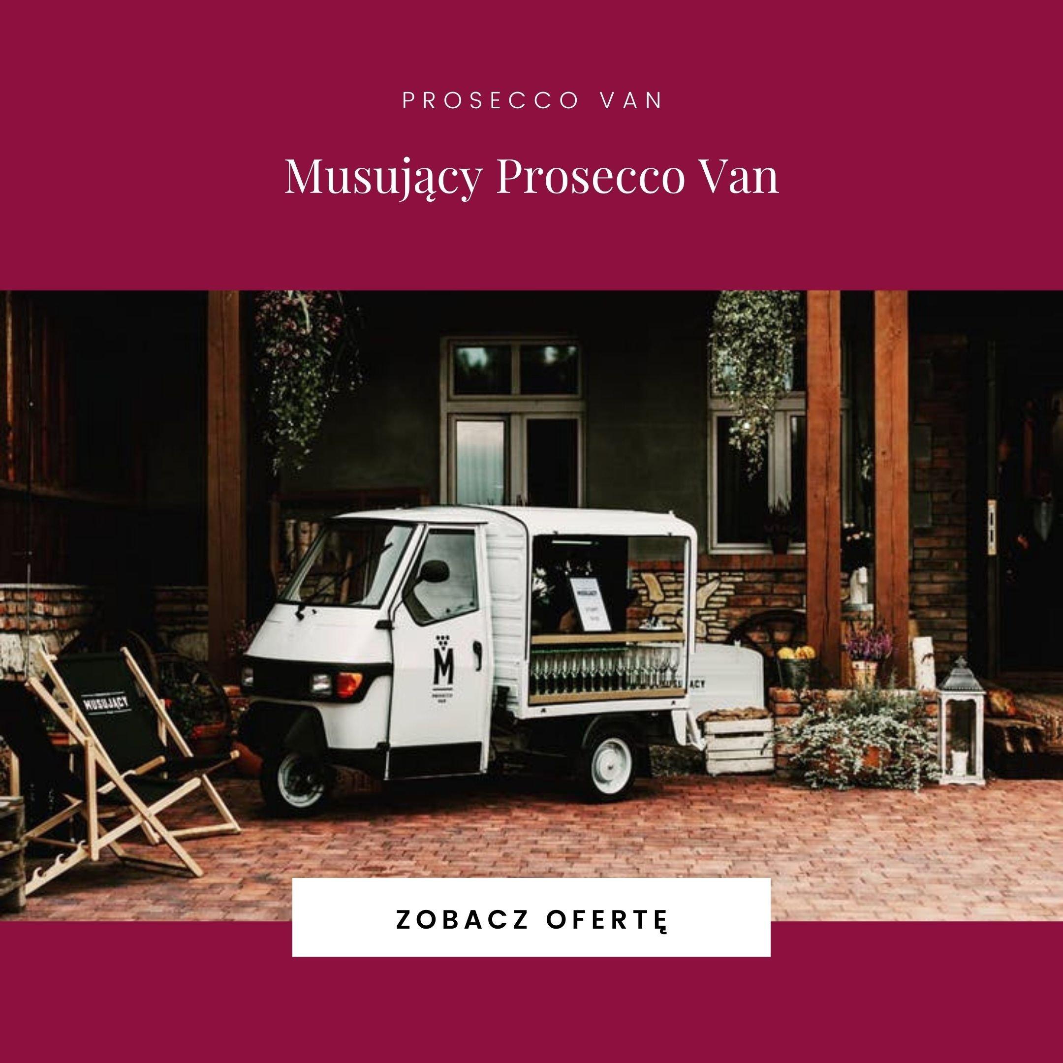 Musujący Prosecco Van