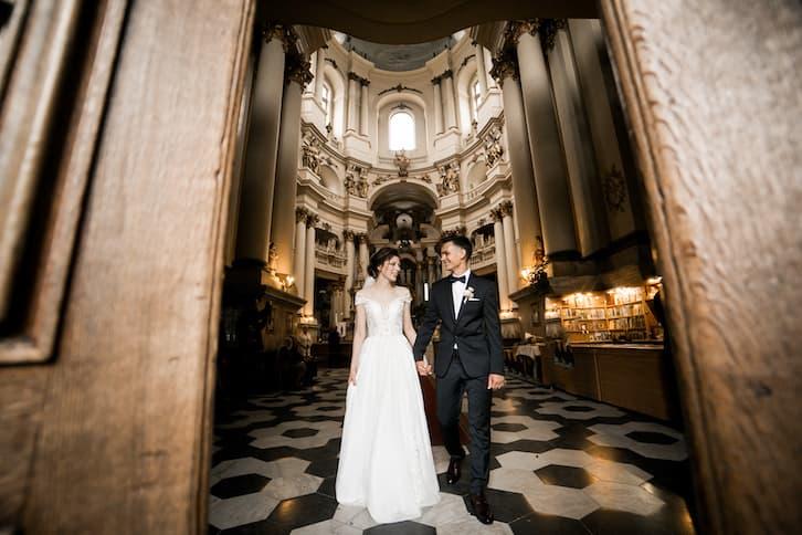 przesądy ślubne ołtarz