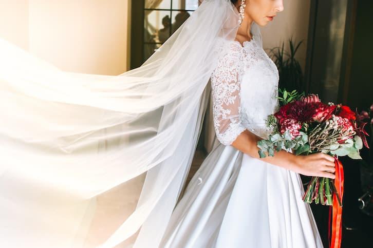 przesądy ślubne welon potknięcie