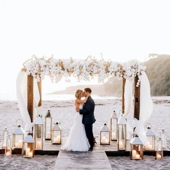 ile kosztuje ślub na plazy lampiony