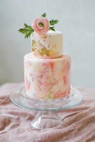 Ręcznie malowane torty weselne - zdjęcie 1