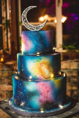 Ręcznie malowane torty weselne - zdjęcie 3