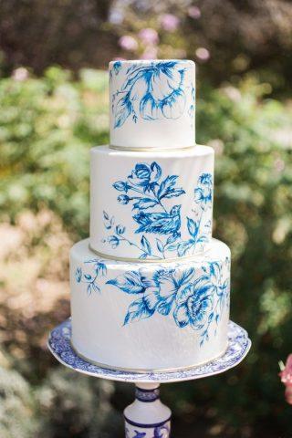 Ręcznie malowane torty weselne - zdjęcie 4