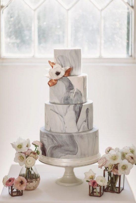 Ręcznie malowane torty weselne - zdjęcie 6