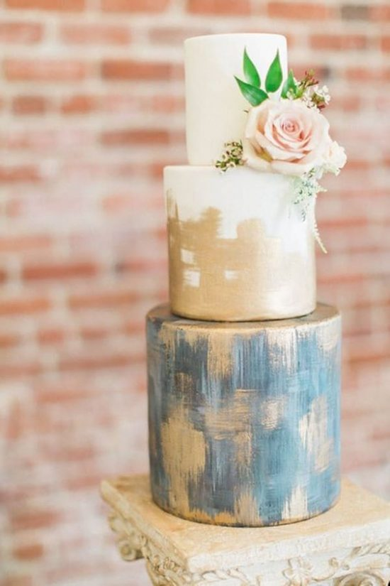Ręcznie malowane torty weselne - zdjęcie 9