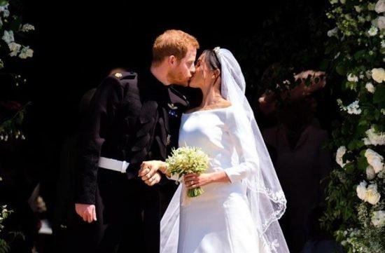 1. rocznica ślubu Meghan Markle i księcia Harry`ego - zdjęcia