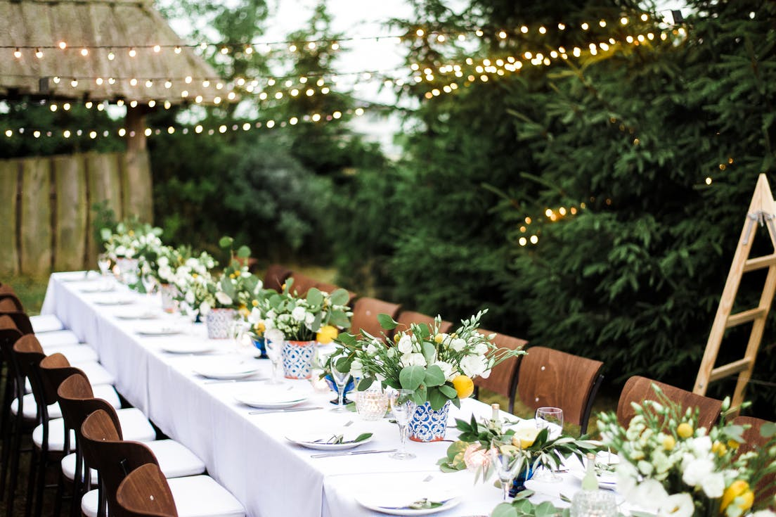 Sala weselna boho - Ogród Babette