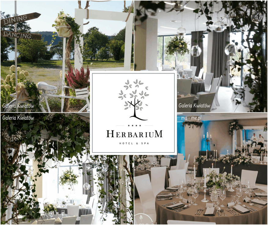 Sala weselna boho - Herbarium Hotel