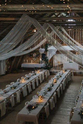 Stodoła weselna w stylu boho