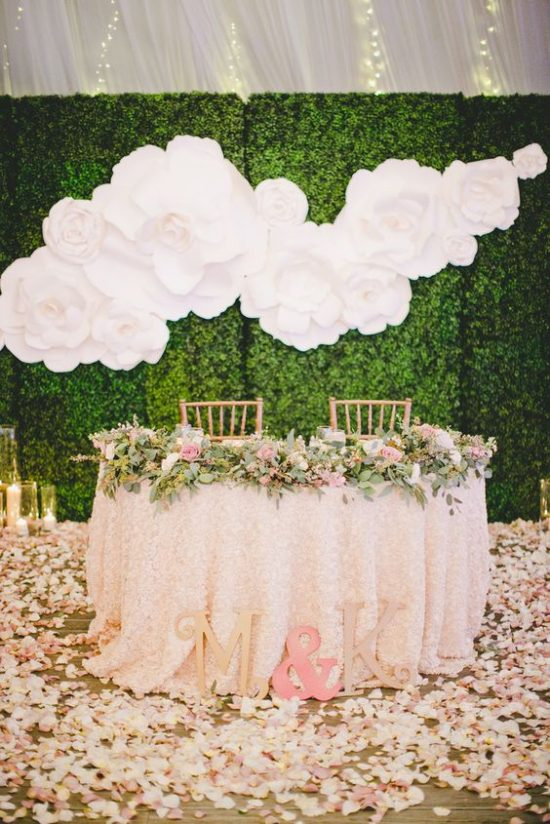 Ścianka kwiatowa na wesele 3