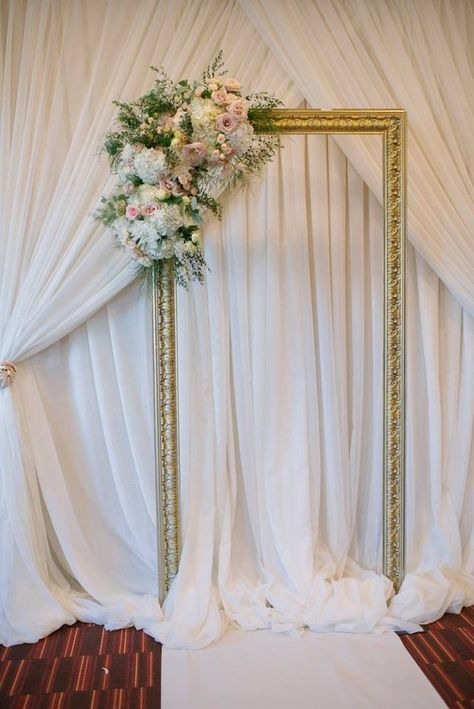 Ścianka kwiatowa na wesele 7