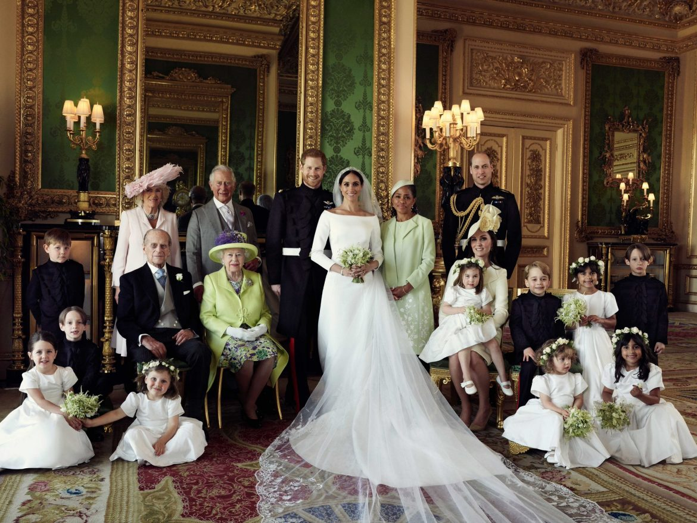 Skromna suknia ślubna Meghan Markle