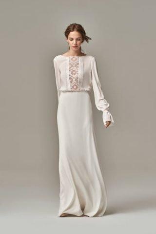 Suknia ślubna z długimi rękawami Anna Kara
