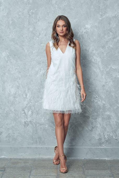Krótka suknia ślubna Anna Sarnowska