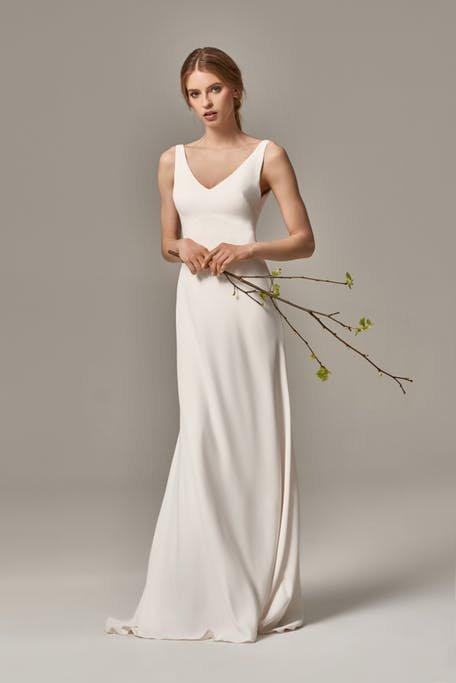 Bieliźniana suknia ślubna Anna Kara