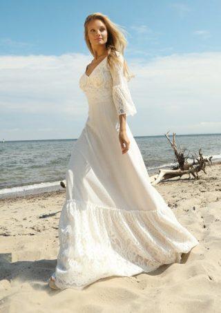 Skromna suknia ślubna boho Gala