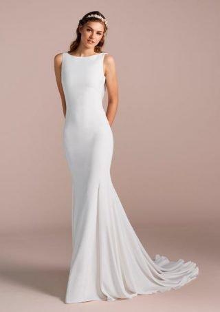 Dopasowana suknia ślubna La Sposa