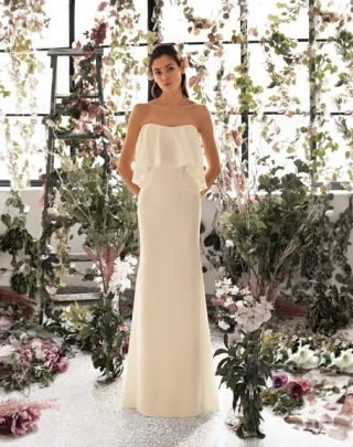 Suknia ślubna ecru Metropolitan