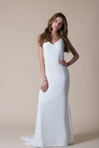 Suknia ślubna w stylu bieliźnianym MiaMia