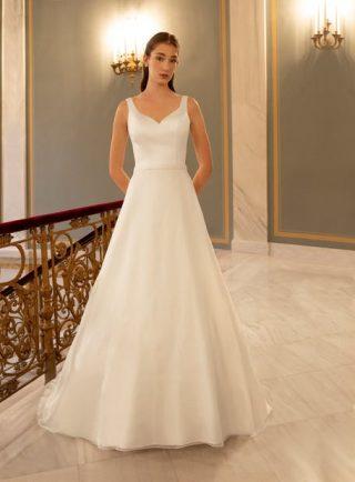 Śmietanowa suknia ślubna OreaSposa