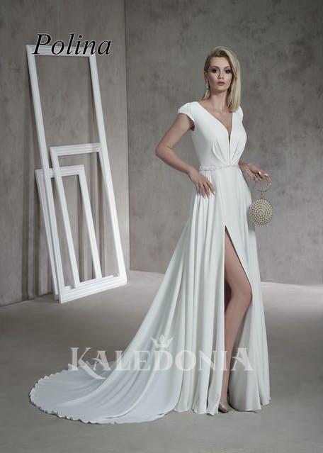 piękne suknie ślubne proste