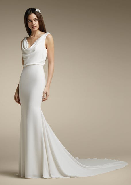 Dopasowana suknia ślubna St.Patrick
